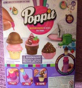 Застывающий пластилин Moose Poppit мороженое
