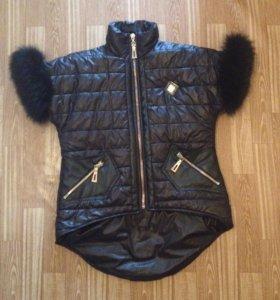 Новая куртка жилетка