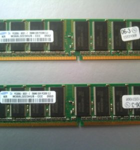 DDR 256mb Samsung