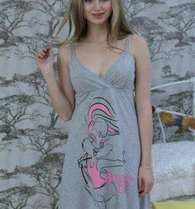 Ночная сорочка, подойдет будущим мамочкам