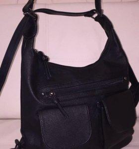 Сумка-рюкзак, новая
