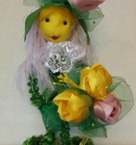 Тюльпанчик-цветок игрушка.