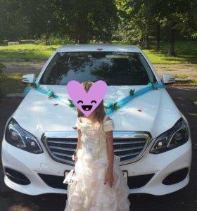 Аренда авто мерседес на свадьбу с водителем