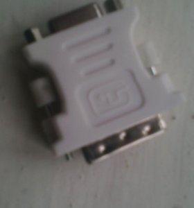 Переходник c DVI на VGA