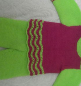 Детский костюм ( брюки и кофта).