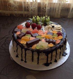 Торты, сдобные пироги, лимонник, пахлава и др