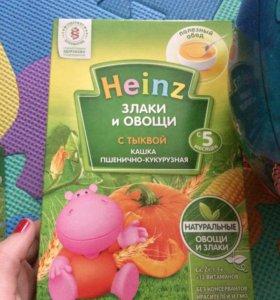 Каша Heinz безмолочная с тыквой