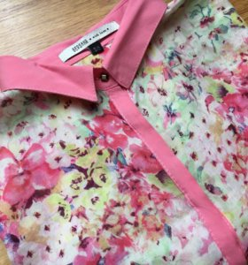Блуза BERSHKA рубашка блузка
