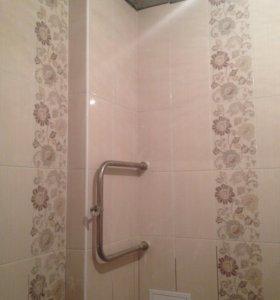 Ремонт и отделка ванной под ключ/частично