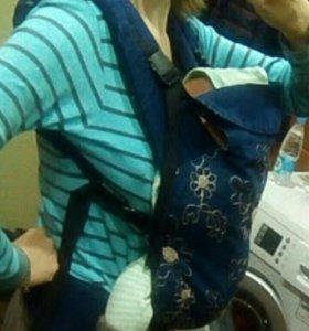 Эрго-рюкзак с рождения