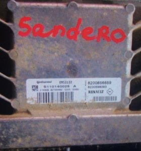 ЭБУ на Сандеро 1.4