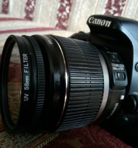 Canon EOS 550D+EFS 18-55 f/3.5-5.6 IS