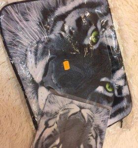 Чехол и коврик для мышки для ноутбука 17 дюймов
