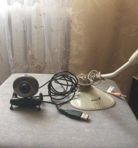 Продам веб камеру и микрофон