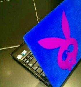 ☡ Нанесение бархата на ноутбук.