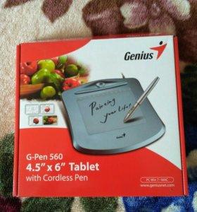 """Графический планшет G-Pen 560 4.5 """"x 6"""" Tablet"""