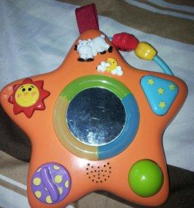 Музыкальная игрушка звездочка BabyGo