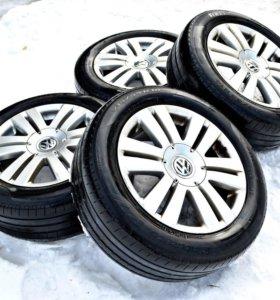 Летняя резина Pirelli на дисках литье