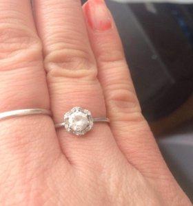 Кольцо серебрёное