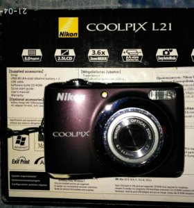 Nikon coolpix l 21