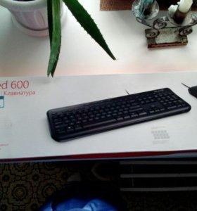 Новый комплект, Мышь, клавиатура