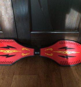2-х колёсный скейт, рокингборд