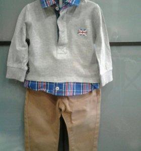 Комплект брюки и рубашка