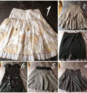 Вещи (платье, юбка, брюки, свитер, кофта, костюм)