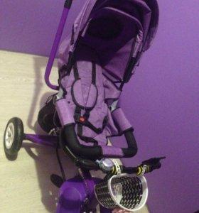 Велосипед с откидной спинкой