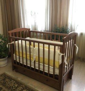 Детская кроватка Лель Лилия