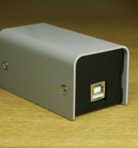 USB-DMX 512.