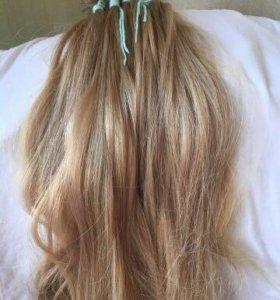 Волосы для наращивания, б/у