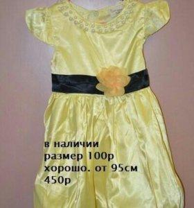 Новое платья р 100