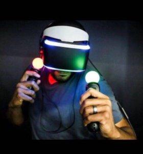 Аренда PS4 и PlayStation VR