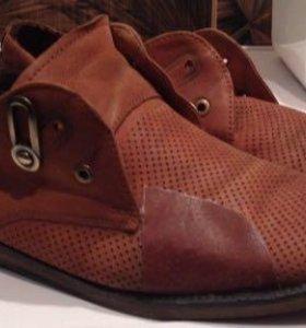 Туфли мужские (натуральная кожа) lido marinozzi