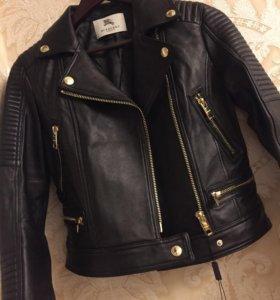 Кожаная куртка Burberry