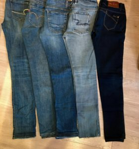 фирменные джинсы Levis,Next и другие марки