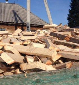 Продам колотые дрова с доставкой