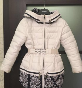 Зимнее пальто куртка 104-110