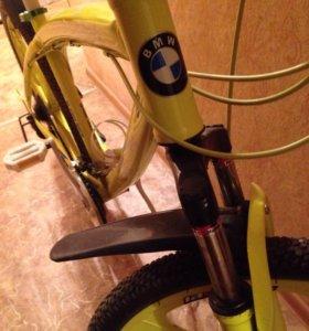 Велосипед BMW Литые диски  срочно