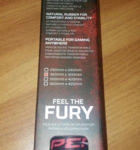 Игровой коврик Kingston HyperX Fury Pro M,