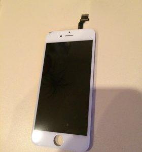 Дисплей с тачскрином iPhone 6 белый