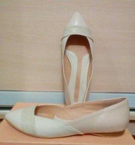 Фирменные балетки