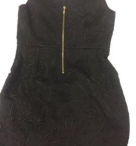 Платье46-48 плотное ткань с объёмными цветами