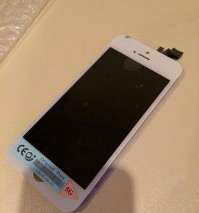 Дисплейный модуль iPhone 5 белый