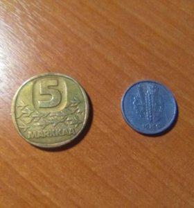 Монеты иностранные