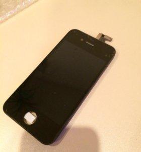 Дисплейный модуль iphone 4S чёрный