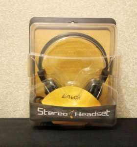 Наушники Stereo Headset A4Tech!!