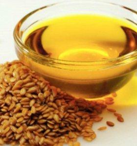 Натуральное масло льняное и тыквенное
