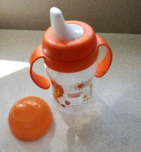 Детская бутылочка+круг для купания